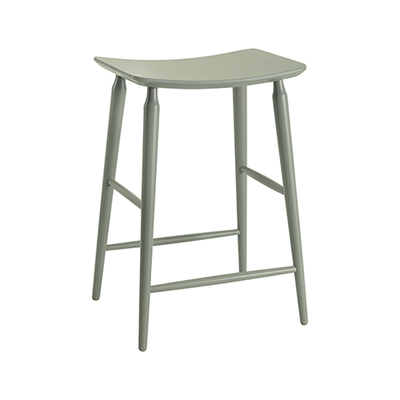 Lester Counter Stool - Grey Lacquered - Image 1
