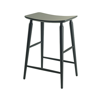 Lester Counter Stool - Grey Lacquered - Image 2