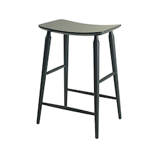 Lester Counter Stool - Dust Yellow Lacquered - Image 2