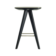 Petite Counter Stool - Orange Lacquered - Image 2