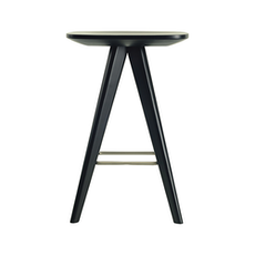 Petite Counter Stool - Green Lacquered - Image 2