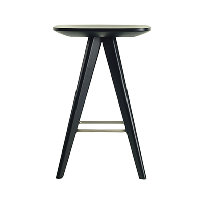 Petite Counter Stool - Dust Yellow Lacquered - Image 2