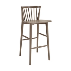 Becky Bar Chair - Dust Brown - Image 1