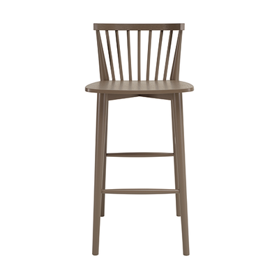 Becky Bar Chair - Dust Brown - Image 2