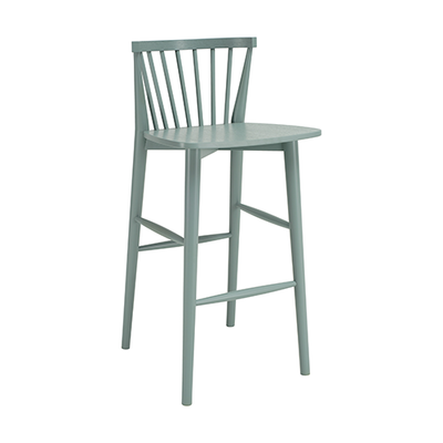Becky Bar Chair - Sage Green - Image 1