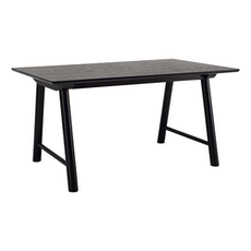 Earl 6 Seater Table - Black - Image 1