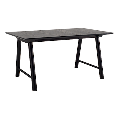 Earl Dining Table 1.5m - Black - Image 1