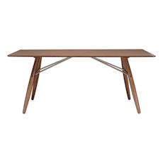 Farrell Rectangular 8 Seater Table - Walnut Veneer, Walnut - Image 1