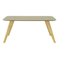 Ryder 8 Seater Rectangular Table - Dust Brown Lacquered, Oak - Image 1