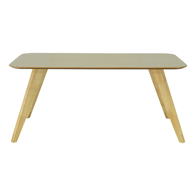 Ryder Dining Table 1.8m - Dust Brown Lacquered, Oak - Image 1