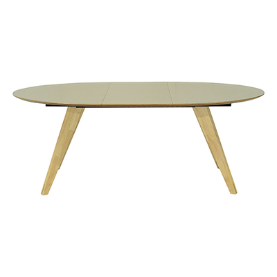 Ryder Extendable Dining Table 1.5m - Dust Brown Lacquered, Oak - Image 2
