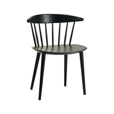 Isolda Dining Chair - Black (Set of 2) - Image 1
