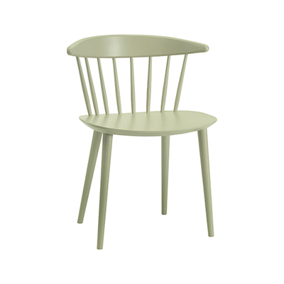 Isolda Dining Chair - Dust Green Lacquered (Set of 2) - Image 1