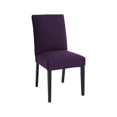 Helena Dining Chair - Black, Orchid (Set of 2) - Image 1