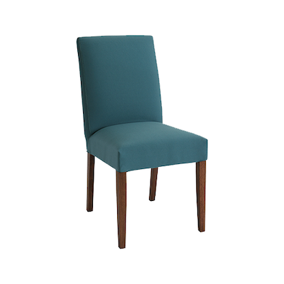 Helena Dining Chair - Walnut, Clover (Set of 2) - Image 1