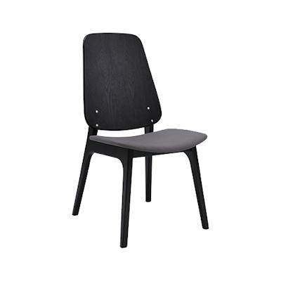 Miranda Dining Chair - Black, Paloma (Set of 2) - Image 1
