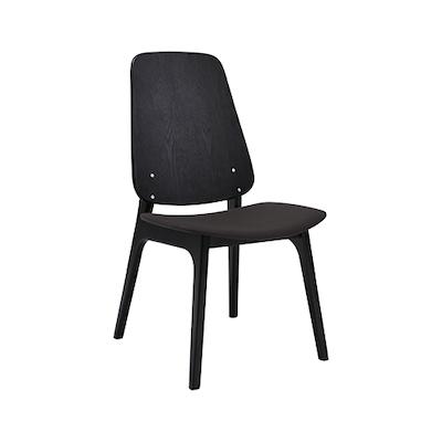 Miranda Dining Chair - Black, Lava (Set of 2) - Image 1