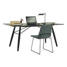 Farrell Rectangular 8 Seater Table - Walnut Veneer, Walnut - Image 2