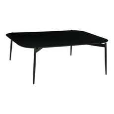 Nova High Coffee Table - Black Ash, Matt Black - Image 1