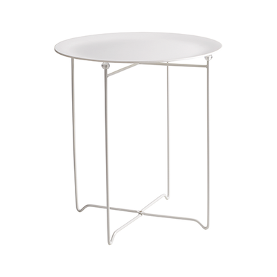 Conner Occasional Table - White, Matt White - Image 1