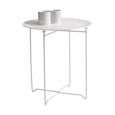 Conner Occasional Table - White, Matt White - Image 2