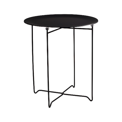 Conner Occasional Table - Black, Matt Black - Image 1