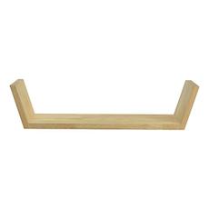 Beaker Wall Shelf - Oak - Image 1