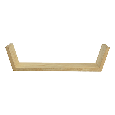 Beaker Wall Shelf - Oak - Image 1