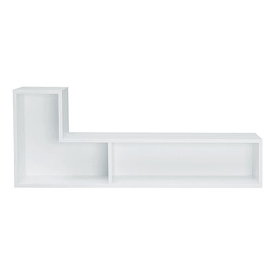 Liam Wall Shelf - White (Set of 2) - Image 1