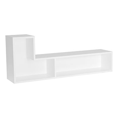 Liam Wall Shelf - White (Set of 2) - Image 2