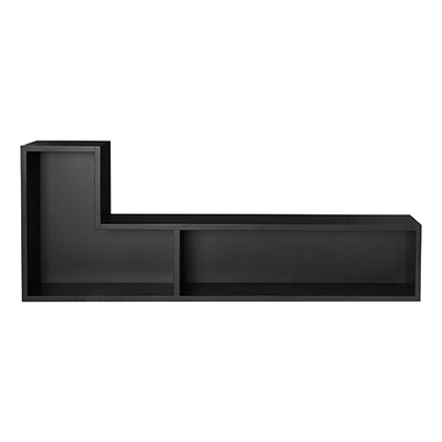 Liam Wall Shelf - Black (Set of 2) - Image 1