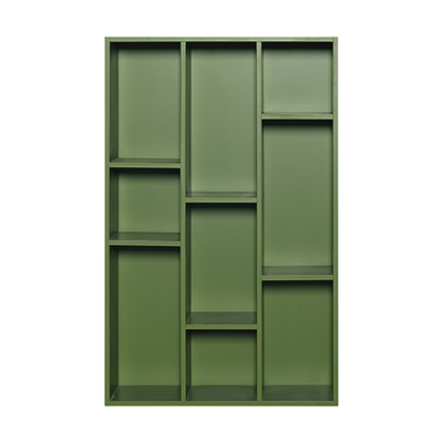 Hale Wall Shelf - Green - Image 1