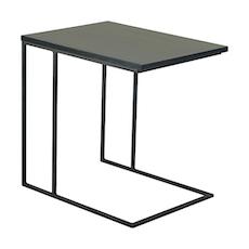 Micah Side Table - Black Ash, Matt Black - Image 1
