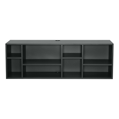 Wilkie Media Rack - Charcoal Grey - Image 1