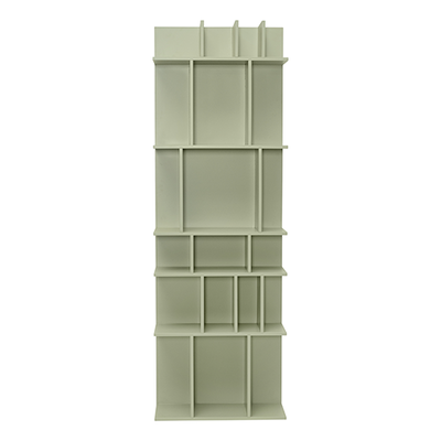 Wilson Tall Wall Shelf - Dust Green - Image 1