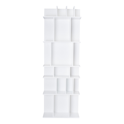 Wilson Tall Wall Shelf - White - Image 1