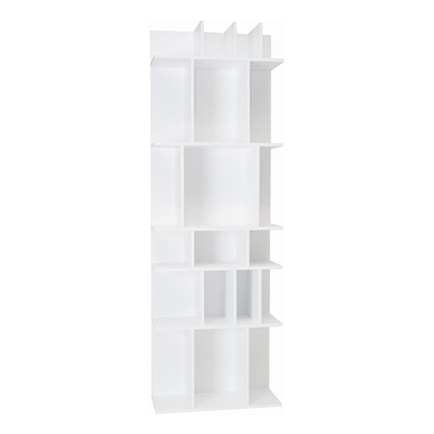 Wilson Tall Wall Shelf - White - Image 2
