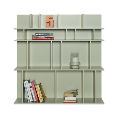 Wilson Short Wall Shelf - Charcoal Grey - Image 2