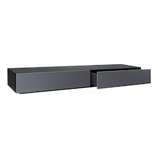 Vito 2M Base Cabinet - Black Ash, Grey - Image 2