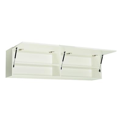 Vito 1.5M Hanging Cabinet - Black Ash, Grey - Image 2