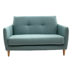 Belle 2 Seater Sofa - Jade - Image 1