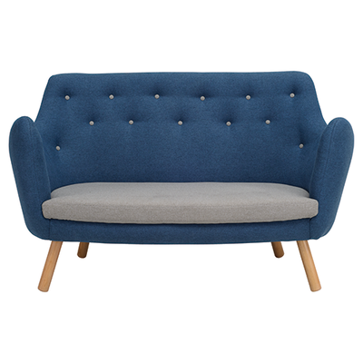 Royal Loveseat - Midnight Blue - Image 1