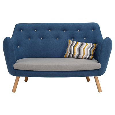 Royal Loveseat - Midnight Blue - Image 2