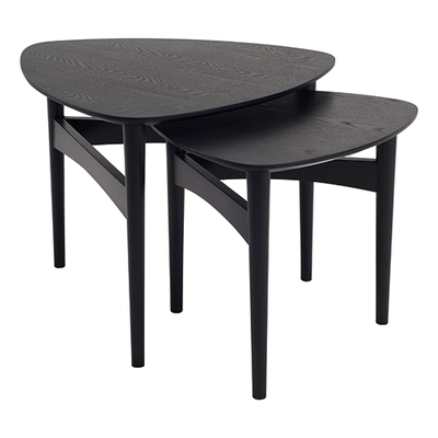 Phila Occasional Table Set - Black - Image 1