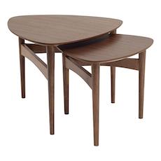 Phila Occasional Table Set - Walnut - Image 1