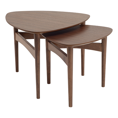 Phila Occasional Table Set - Walnut - Image 1