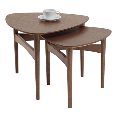 Phila Occasional Table Set - Walnut - Image 2