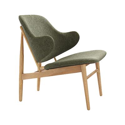 Chloe Lounge Chair - Forrest, Oak - Image 1