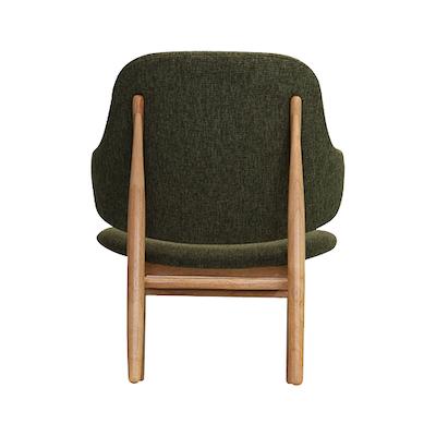 Chloe Lounge Chair - Forrest, Oak - Image 2