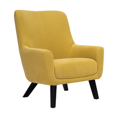Alicia Lounge Chair - Tumeric - Image 1